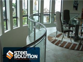 Pasamanos en Stainless Steel, Steel Solution, LLC Puerto Rico