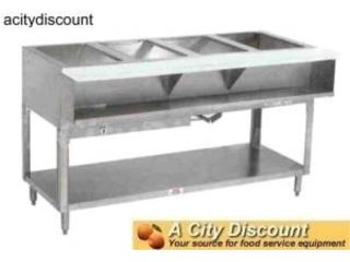 STEAM TABLES GAS  2-3-4-5-6 pozos...LLAME! , AA Industrial Kitchen Inc Puerto Rico