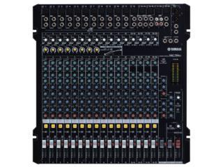 Liquidacion : Consola Yamaha 20 canales MG206, STEVAN MICHEO MUSIC Puerto Rico