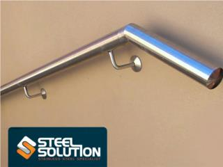 Stainless Steel Handrail Custom Made, Steel Solution, LLC Puerto Rico