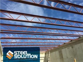 Estructuras en acero hechas a la medida, Steel Solution, LLC Puerto Rico