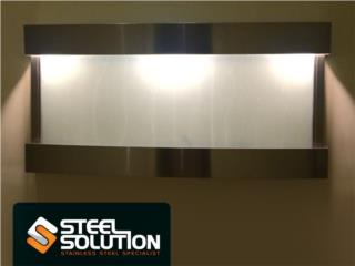 Fuentes en Stainless Steel hechas a la medida, Steel Solution, LLC Puerto Rico