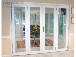 Puerta Heavy Full Glass Cuatro Hojas 96 x 96, MG Inter / Space Designs Puerto Rico