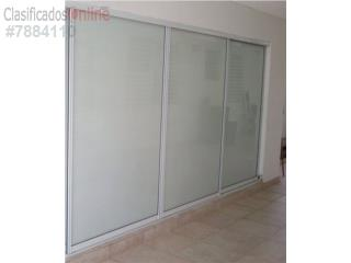 Puertas de Closet Heavy Duty Blanco 144x96, MG Inter / Space Designs Puerto Rico