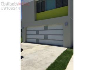 MODELO NUEVO EN COMBINACIÓN PARA TU HOGAR, PUERTO RICO GARAGE DOORS INC. Puerto Rico