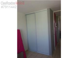 Puertas de Closet Heavy Duty Blanco 72x96, MG Inter / Space Designs Puerto Rico
