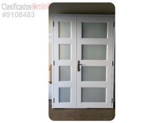 Puerta Aluminio Heavy Duty Seguridad 56x84, MG Inter / Space Designs Puerto Rico