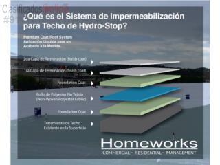 Sellado de Techo - Garantía Certificada, Homeworks Corp./Puerto Rico Energy Solutions Puerto Rico