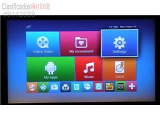 M8S android BOX con mas de 900 canales, SAT EXPERTS Puerto Rico