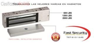 Cerradura Magnética con Beepers para negocio , FAST SECURITY  Puerto Rico