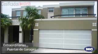 Puerta Garaje Aluminio Heavy 9 x 8 Instalada, MG Inter / Space Designs Puerto Rico