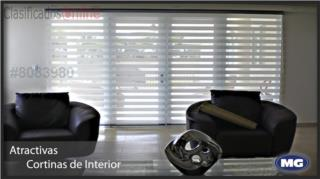 Cortinas illusion 78 x 60 Tela Original!!, MG Inter / Space Designs Puerto Rico