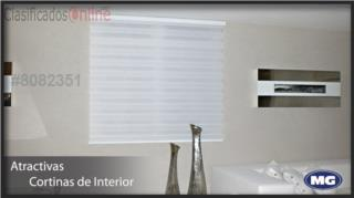Cortinas illusion 60 x 60 Tela Original!!, MG Inter / Space Designs Puerto Rico