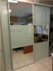 Puertas Closet Heavy Tres divisiones 72 x 96, MG Inter / Space Designs Puerto Rico