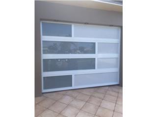 Puerta de Garage en Aluminio y Cristal , EDO Services Puerto Rico