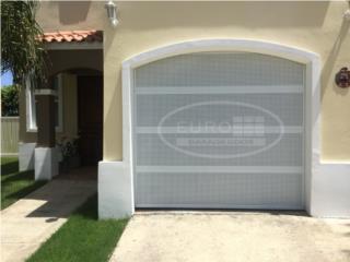 Oferta en puertas de garage alumino ventilada, EURO GARAGE DOORS Puerto Rico
