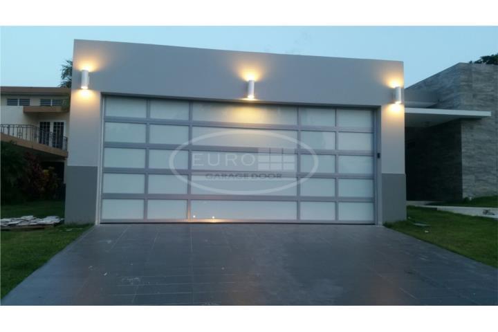 Puerta para garage aluminio y cristal puerto rico - Puertas de garages ...