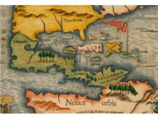 Mapas de PR y El Caribe: 1600's - 1940's, Mr. Bond Vintage Puerto Rico