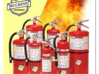 EXTINTOR 2.5lbs. para Casa y Automoviles, FIRE FOE INC PR Puerto Rico