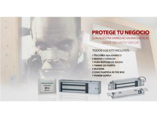 Cerradura Magnéticas 600 libras , FAST SECURITY  Puerto Rico
