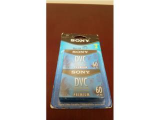 Sony Mini DV Premium Cassettes !!Nuevos!!, Quality Sales PR Puerto Rico