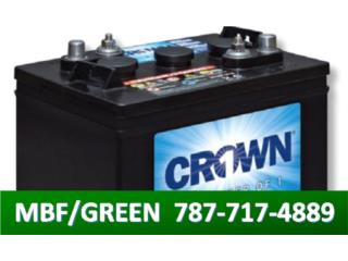 BATERIAS CROWN SELLADAS - SOLAR O BACK UP, MULTI BATTERIES & FORKLIFT, CORP. Puerto Rico