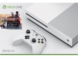 Xbox One Slim Nuevos 500GB Batlefield 1, PRO Electronics Puerto Rico