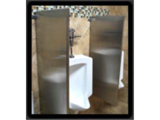 San Juan-Río Piedras Puerto Rico Equipo Comercial, Particiones en Acero Inoxidable para baños