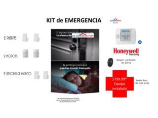 ADT Kit de Emergencia $0 mensualidad Bat Ext, Alarm Depot Of PR Puerto Rico