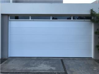 Puerta de garage certificada contra huracanes, EURO GARAGE DOORS Puerto Rico