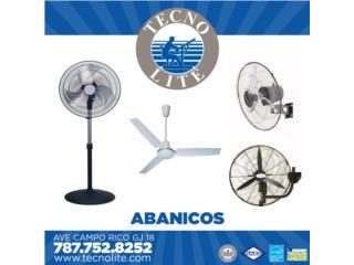 NO PASES CALOR!!! ABANICOS, TECNO-LITE of PR  Puerto Rico