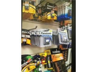 Assortment of All Sizes and Make of Batteries, WSB Supplies Puerto Rico