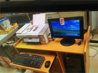 Computadora IBM, Monitor, Printer Escritorio, WSB Supplies Puerto Rico