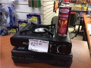 Estufa de gas butano $29.95 incluye botella, PULGUERO COLON Puerto Rico