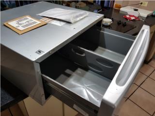 Base-Pedestal pa lavadora y secadora GE., ECONO/CRISIS SOLUTIONS Puerto Rico