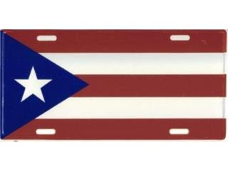 Puerto Rico License Plate Flag 6, WSB Supplies U Puerto Rico