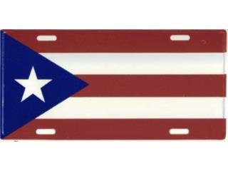 Puerto Rico License Plate Flag 6, WSB Supplies Puerto Rico