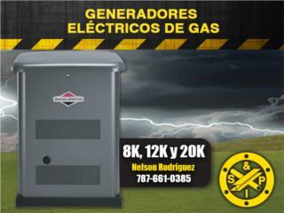 Generadores Eléctricos de Gas, Steel and Pipes Puerto Rico