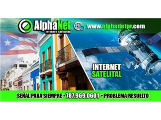 San Juan-Río Piedras Puerto Rico Equipo Comercial, Internet satelital comercial SIN CONTRATO