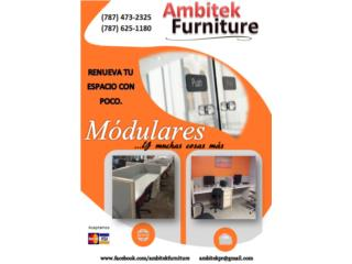 MÓDULOS DE OFICINA REACONDICIONADO , AMBITEK FURNITURE Puerto Rico
