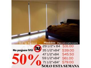 ¿Necesitas oscuridad? cortinas de interior, READY SHADES Puerto Rico