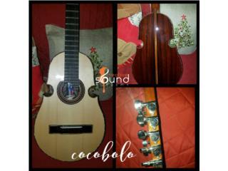 Cuatro Profesional en Cocobolo, Creative Sound Academy Puerto Rico