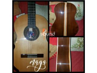 Guitarra Artesanal en Maga, Creative Sound Academy Puerto Rico