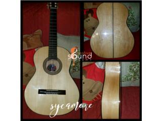 Guitarra Artesanal en Sycomora, Creative Sound Academy Puerto Rico