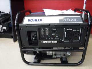 GENERADOR KOHLER PRO 2.8I INVERTER, PLANET HONDA POWER EQUIPMENTS Puerto Rico