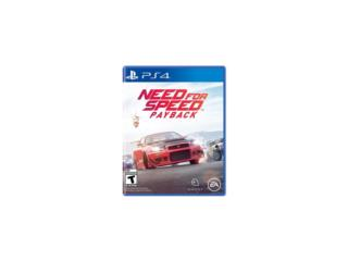 Need for Speed Payback - PlayStation 4, PRO Electronics Puerto Rico