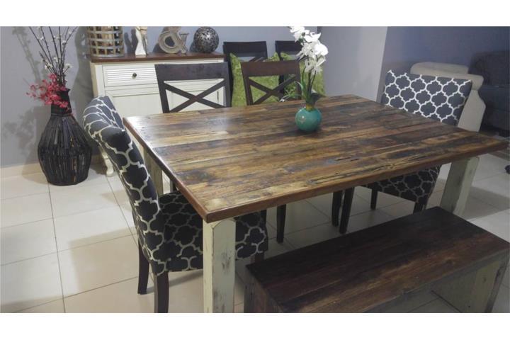 Mesas en madera y juegos de comedor puerto rico for Puerto rico juego de mesa