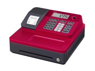 Cajas Registradoras Casio Color Roja, WSB Supplies Puerto Rico