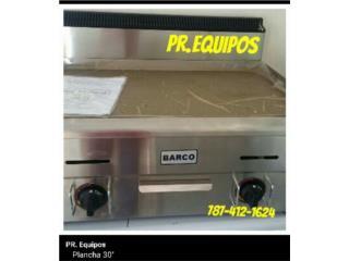 PLANCHA DE GAS 24'' y 30'', PR. EQUIPOS Puerto Rico