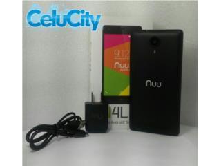 "Celular Nuu N4L Android5.1  5.0"" Nuevo , CELUCITY Puerto Rico"